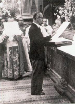 Palabras de Don Javier de Borbón-Parma en un acto en Arbonne (30 de mayo de 1976)
